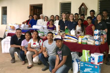 Annual contribution of food, school supplies, medicines and various equipment for Centro Comunitario Virgen de Guadalupe in El Bale, Veraguas  - Panama